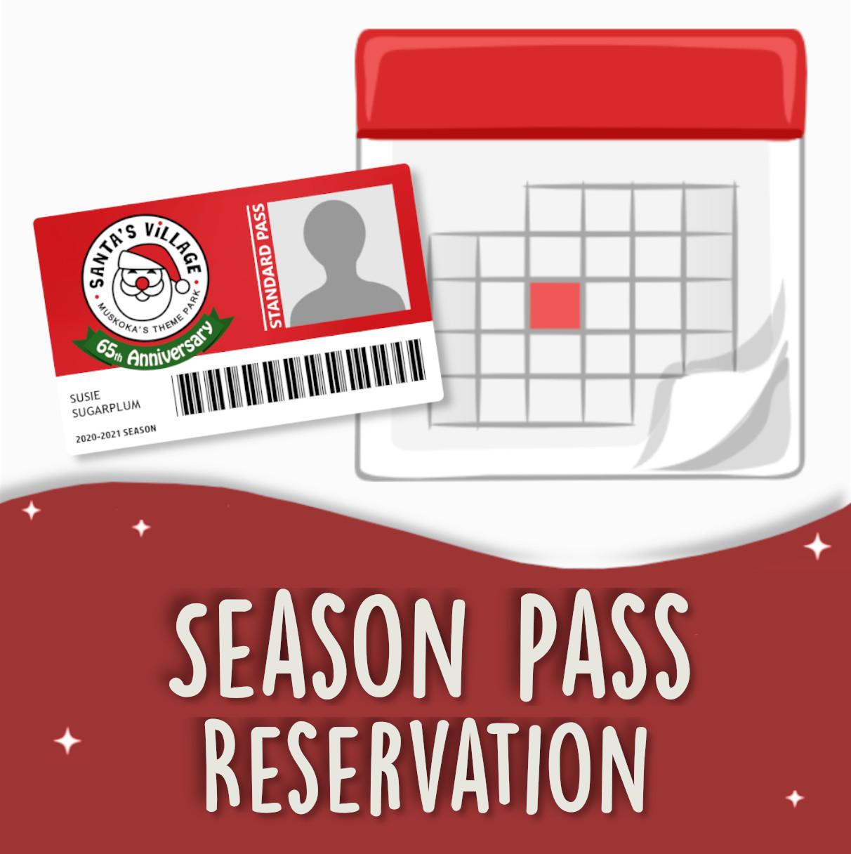 Season Pass Visit Reservation